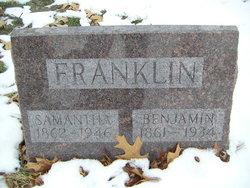Samantha Jane <i>Hathaway</i> Franklin