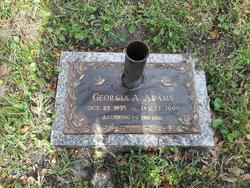 Georgia Ann <i>McAllister</i> Adams