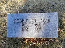 Bobbie Lou Dyar