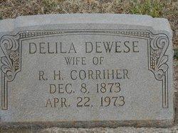 Delila Jane <i>Deweese</i> Corriher