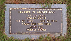 Hassell G Anderson