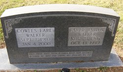 Carrie Pauline <i>Barlow</i> Walker