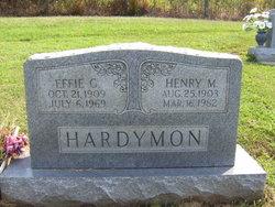 Effie Gladys <i>Little</i> Hardymon