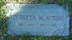 Louretta Minerva <i>Conner</i> Atkins