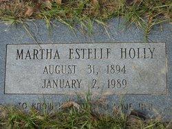Martha Estelle Holly