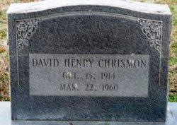 David Henry Chrismon