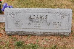 Mary Emily <i>Filps</i> Adams