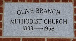 Olive Branch Methodist Church Cemetery