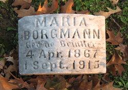 Maria <i>Brinker</i> Borgmann