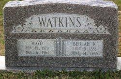 Beulah J. <i>Kendrick</i> Watkins