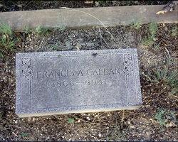 Francis Adeline Fanny <i>Neal</i> Callan