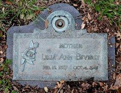 Lelia A. <i>Pace</i> Beverly
