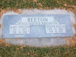Mary <i>Poulsen</i> Beeton