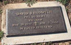 David J. Hudspeth