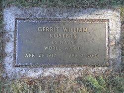 Gerrit William Bill Kosters