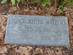 George Joseph Mathews