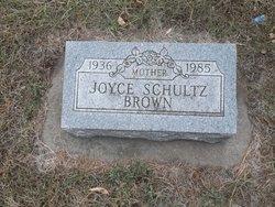Joyce <i>Schultz</i> Brown