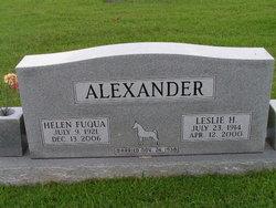 Helen Virginia <i>Fuqua</i> Alexander
