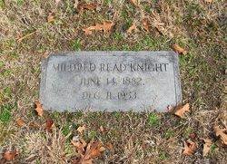 Mildred <i>Read</i> Knight