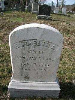 Elizabeth A <i>Hopkins</i> Baker