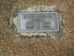 Bessie Mae <i>Gardner</i> Barber