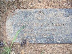 Johnnie E Adams