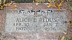 Alice E. <i>Coe</i> Redus
