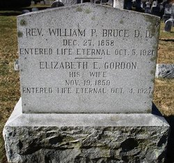 Rev William P. Bruce