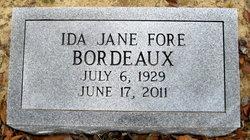 Ida Jane <i>Fore</i> Bordeaux