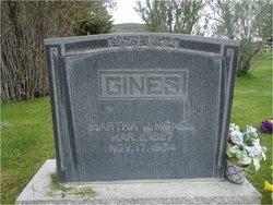 Martha Jane <i>McNeil</i> Gines