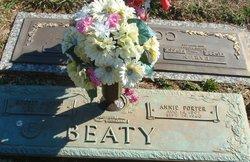 Bertha Anne Annie <i>Porter</i> Beaty