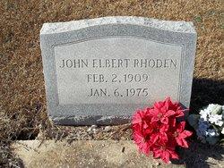 John Elbert Rhoden