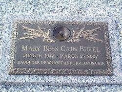 Mary Bess <i>Cain</i> Burel