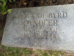 Rebekah Byrd Candler
