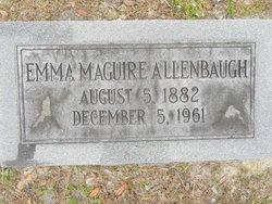 Emma <i>Maguire</i> Allenbaugh