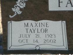 Dorothy Maxine <i>Taylor</i> Fambro