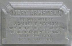 Mary Armstead <i>Byrd</i> Wyman