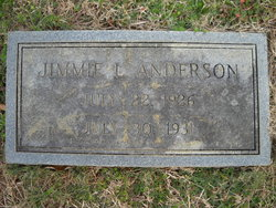 Jimmie L Anderson