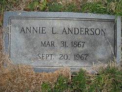 Annie Lee Jones Anderson