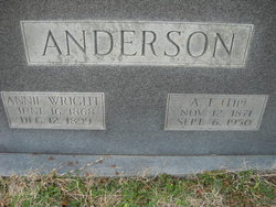 Annie <i>Wright</i> Anderson