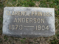 Clarence Printiss Anderson