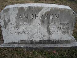 Edwin S Anderson