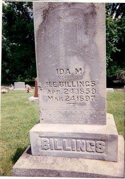 Ida May <i>Maynard</i> Billings