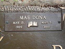 Mae Dona Celestine <i>Davis</i> Burns