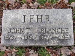 John T Lehr