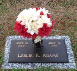 Leslie Kay <i>Roberts</i> Adams