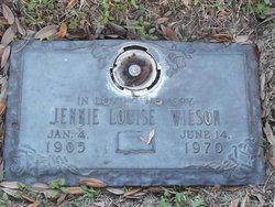 Jennie Louise Wilson