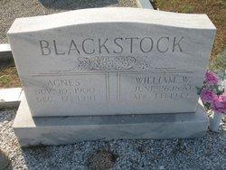 Agnes <i>Hardin</i> Blackstock