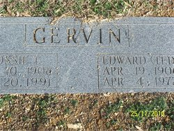 Edward Theodore Ted Gervin