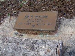 Lee M Ballard